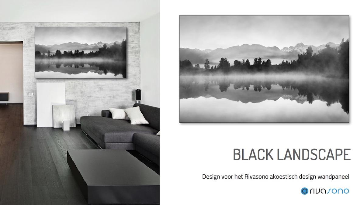 Design Black Landscape